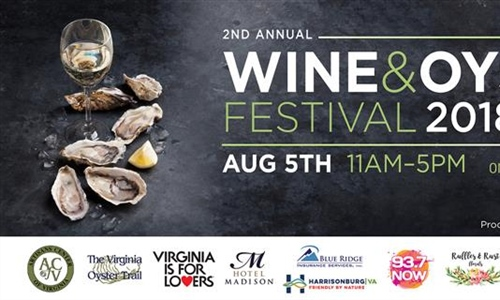 Wine and Oyster Festival On Sunny Slope Farm