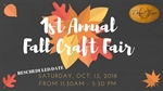 1st Annual Fall Craft Fair
