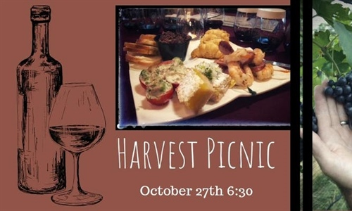 Harvest Picnic Dinner and 2018 Cellar Fermentation Tour