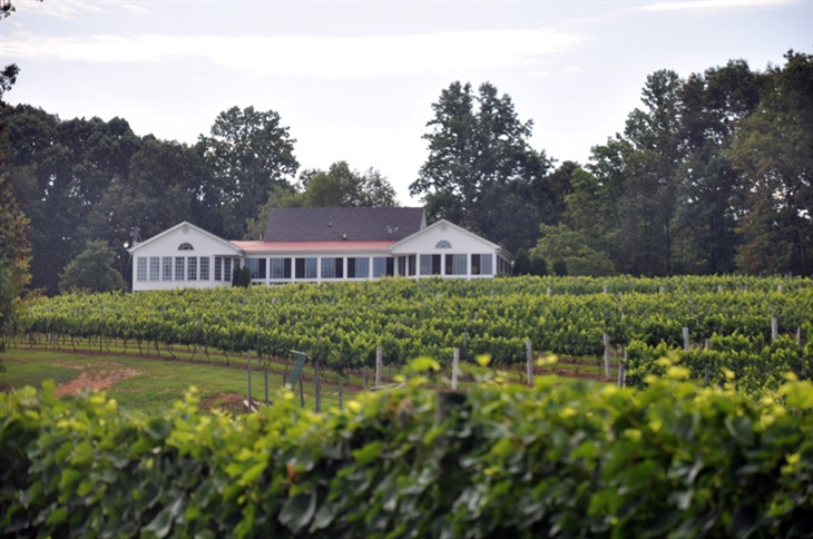 White Rock Vineyard, Winery and Brew Haus