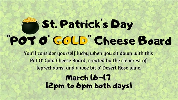 'Pot O' Gold' Cheese Boards