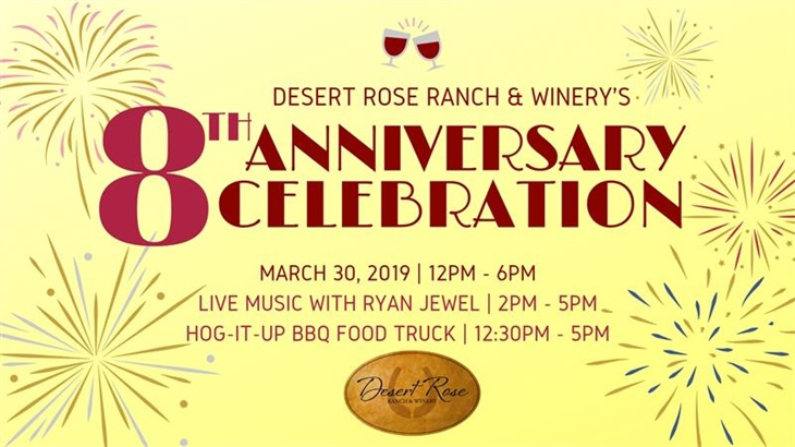 Desert Rose's 8th Anniversary Celebration