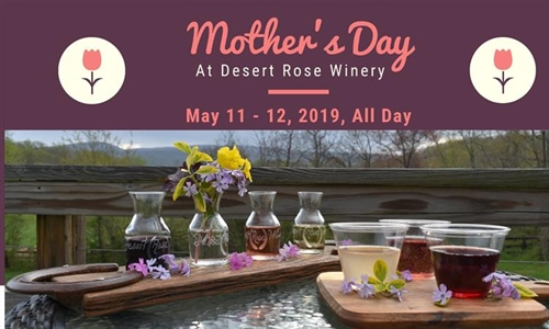 Mother's Day Wine Flights & Juice Flights for the Kids