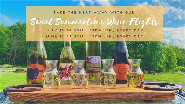 Sweet Summertime Wine Flights