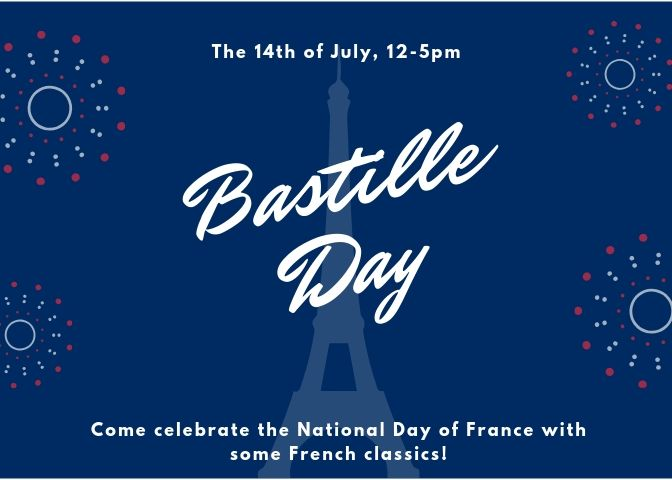 Celebrate Bastille Day with French Classics!