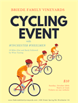 Cycling Event with Briede Family Vineyards
