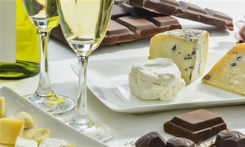 Triple Threat-Wine, Cheese & Chocolate