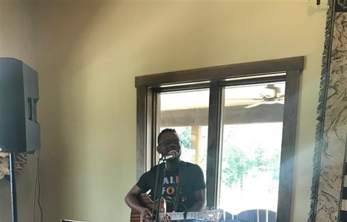 Live music with Caleb Hacker at Magnolia Vineyards